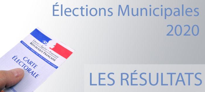 ELECTIONS MUNICIPALES : RESULTATS